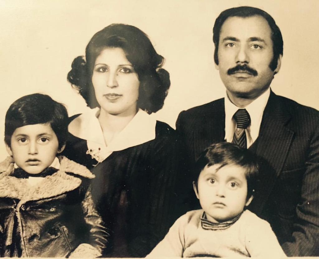 Oude familie foto